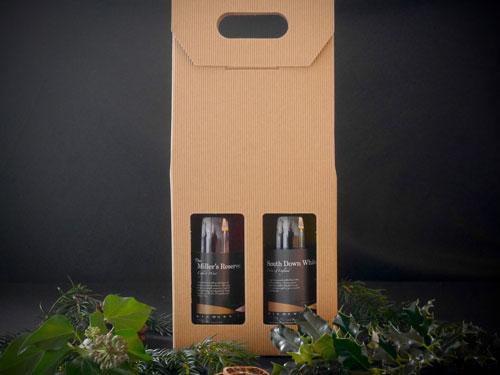 Highdown 2 Bottle Wine Box